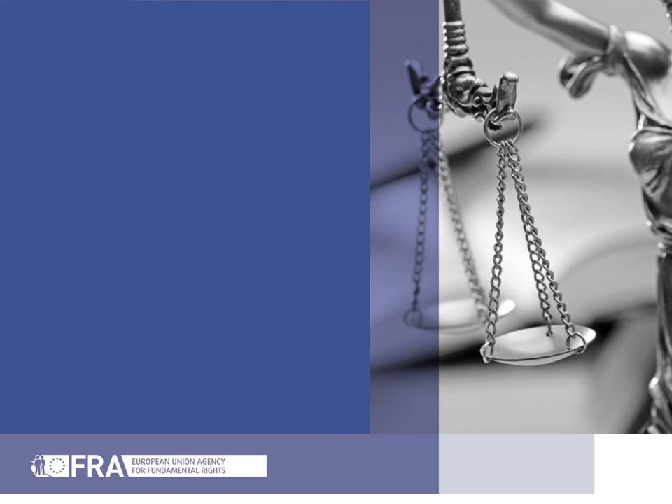 Contributo do OPJ para o relatório da FRA sobre os Direitos Fundamentais 2020