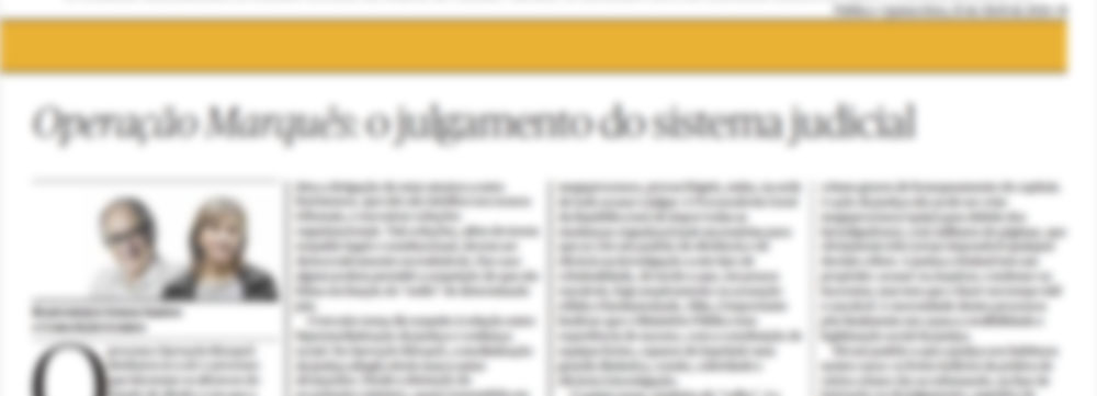 Operação Marquês: o julgamento do sistema judicial