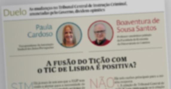 A fusão do Ticão com o TIC de Lisboa é positiva?